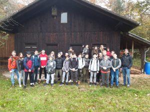 Mittelschüler betreiben aktiven Umweltschutz