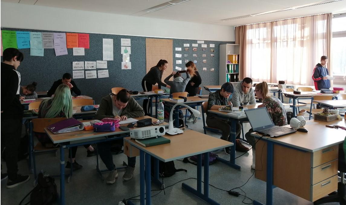 Aktive politische Bildung in der Klasse 10M2