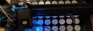 Coronatest – Halter hergestellt mit 3D-Drucker