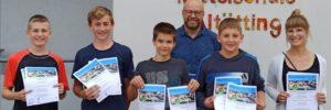 Weiß- Ferdl- Schule nimmt am OMV- 6km- Lauf teil